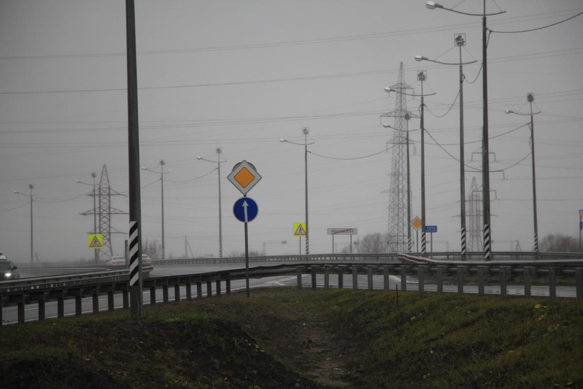 Авария произошла на 27-м км по трассе М-8