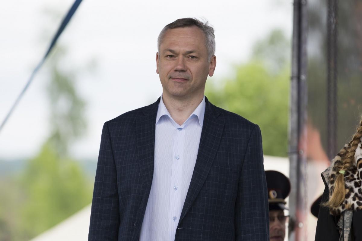 Фестиваль посетил Андрей Травников