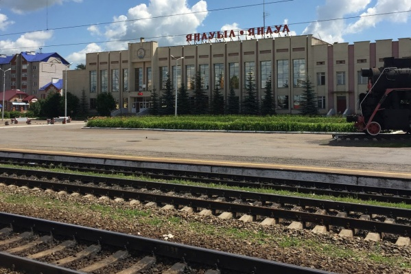 Инцидент произошел на железнодорожной станции утром 23 сентября