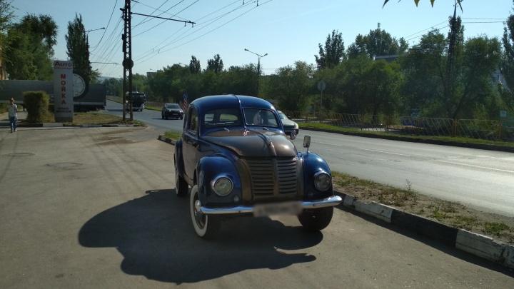 В Тольятти заметили редкий ретроавтомобиль времен Второй мировой войны