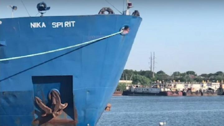 Проданный волгоградский танкер задержан Украиной