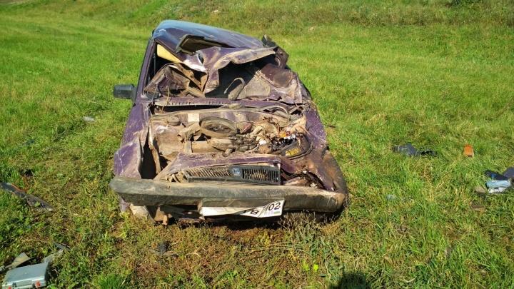 Два человека погибли в авариях на трассах Башкирии за минувшие сутки