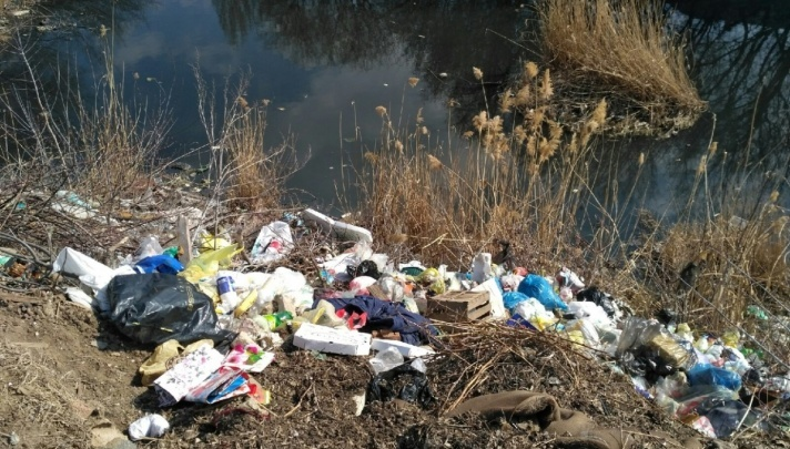 Над розовым озером нависла угроза: «Концессии» заставили убрать зловонное болото в поселке Тир