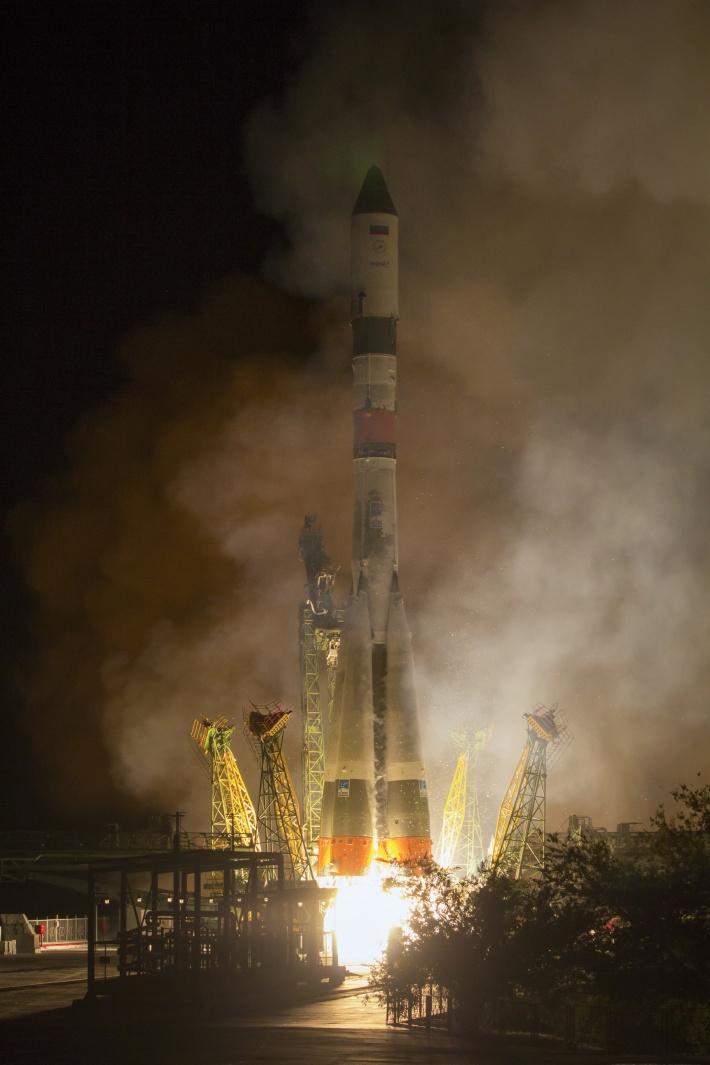 Сейчас Россия запускает с Байконура усовершенствованные ракеты Королёва