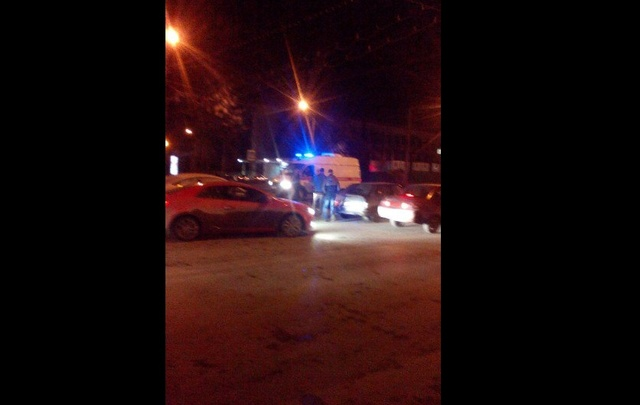 В Уфе на проспекте Октября на зебре сбили пешехода