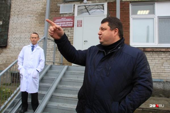 Антон Карпунов рассказывает, как искали новое здание для размещения отделения