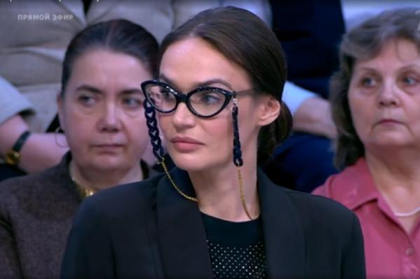 Известный блогер объяснила свою позицию в программе Первого канала «Время покажет»