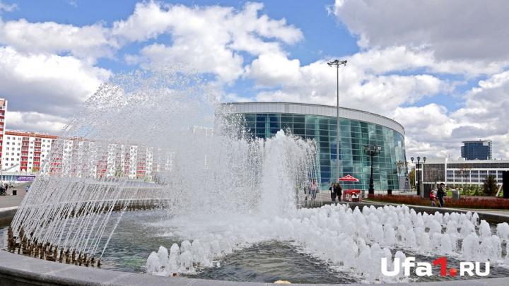 В Уфе закрыли фонтан на площади Салавата Юлаева