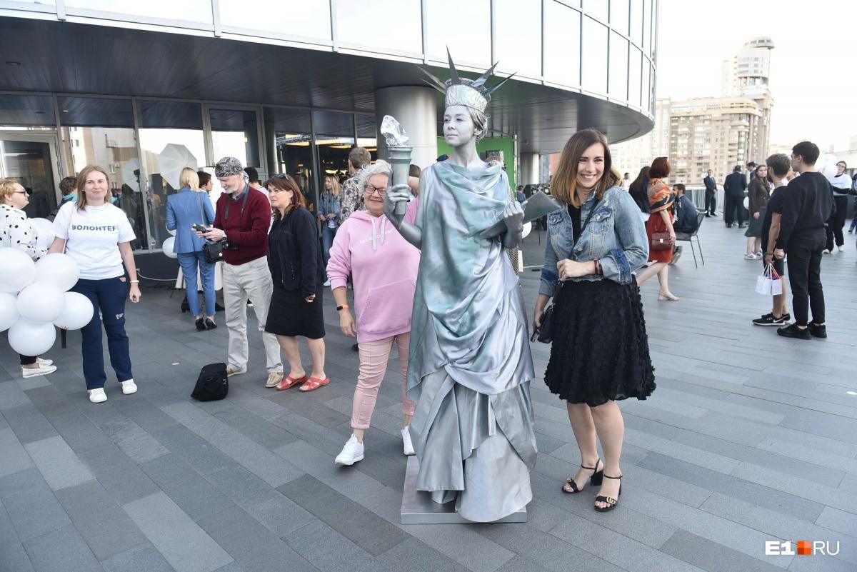 Так выглядела Статуя Свободы