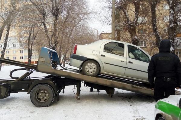Должник спокойно отреагировал на арест машины