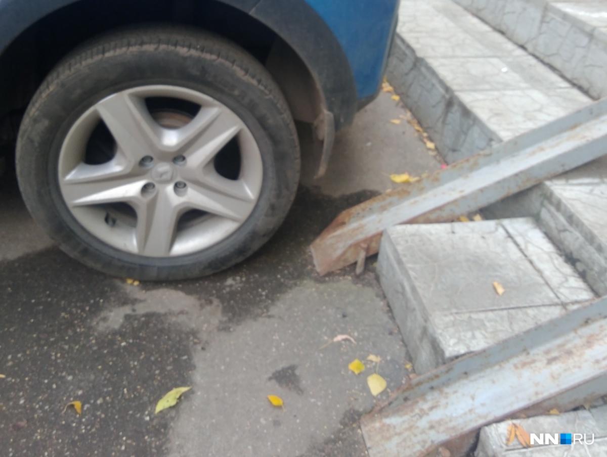 Отсутствие парковок не повод перекрывать путь для инвалидов
