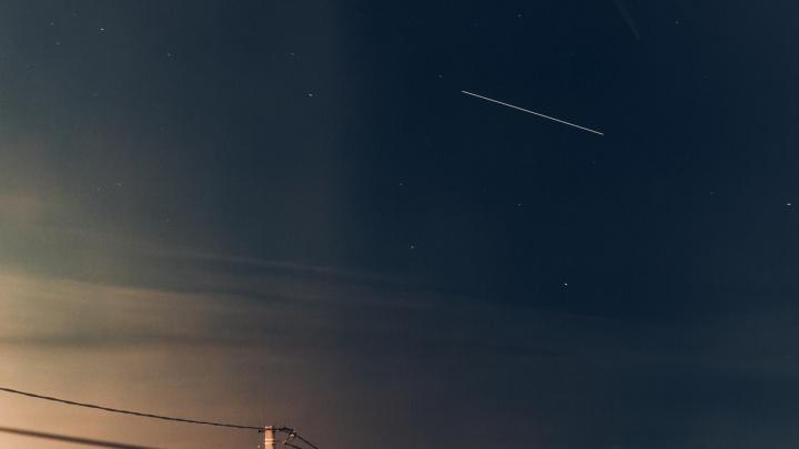 В ночном небе тюменцы смогут увидеть полет космонавтов