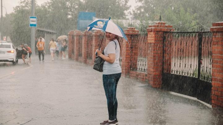 Синоптики: в начале августа в Тюмени ожидаются дожди и сильные ветра