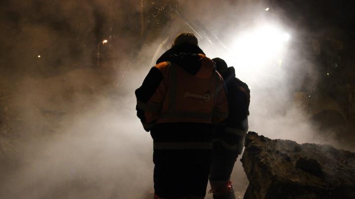 Жители многоквартирных 37 домов в Дзержинском районе остались без отопления до утра