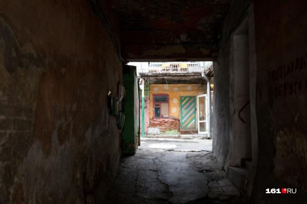 Некоторые здания в Ростове очень трудно отличить от бразильских фавел