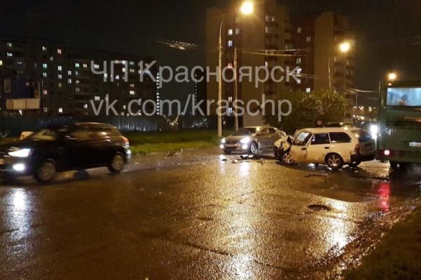 ДТП произошло в «Солнечном» поздно вечером 13 сентября