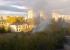 В Екатеринбурге в пятый раз за три месяца загорелась школа, которую реконструируют