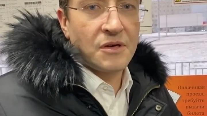 Глеб Никитин лично проверил работу нижегородского транспорта, но А-20 так и не дождался