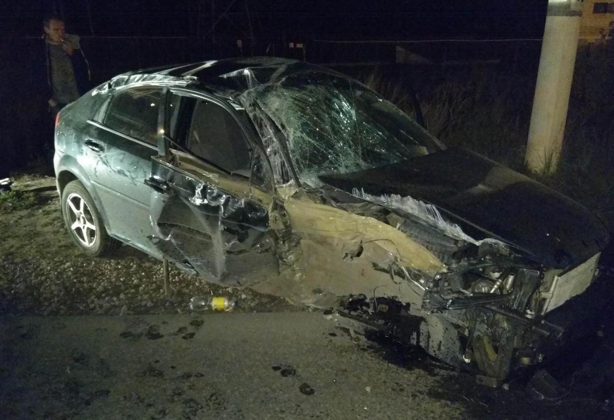 Судя по фото, это не первая авария, в которой побывала машина