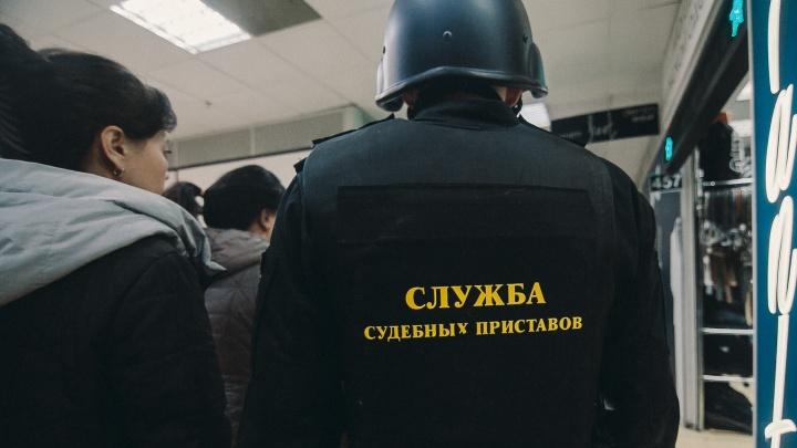 Судебные приставы и сотрудники ГИБДД нашли водителя с долгом 600 тысяч рублей