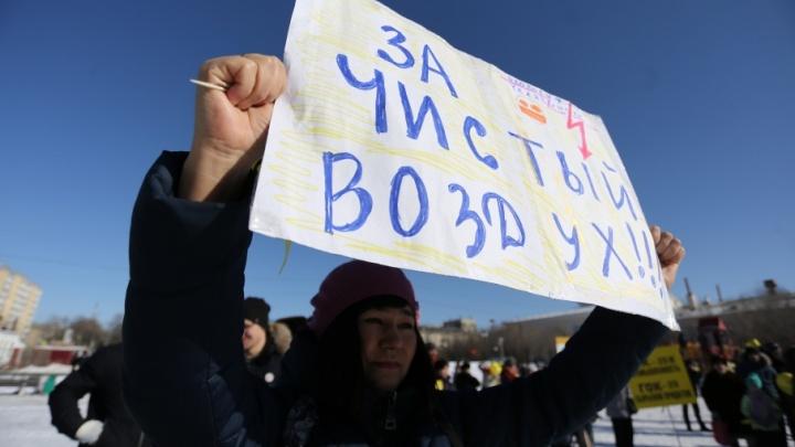 «Сеют тревогу»: Дубровский назвал митинги неэффективным способом решения экологических проблем