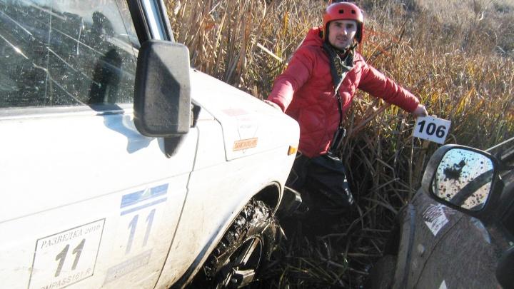 В Ростовской области простились с гонщиком, погибшим на чемпионате по джип-триалу в Геленджике