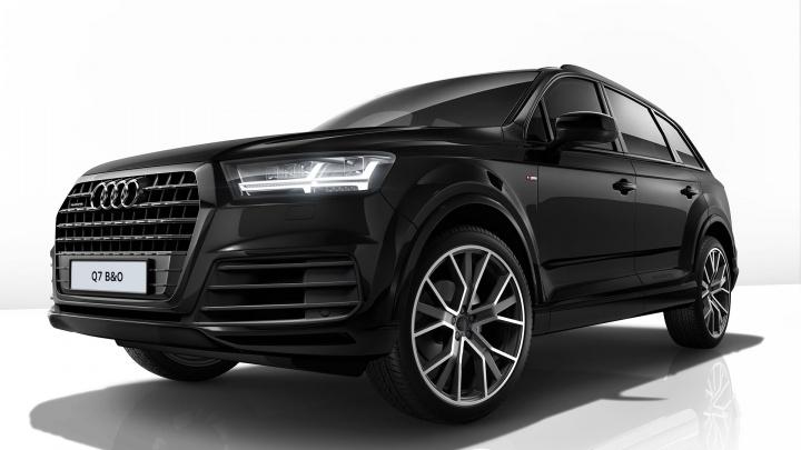 Audi рассекретила новую модель Q7