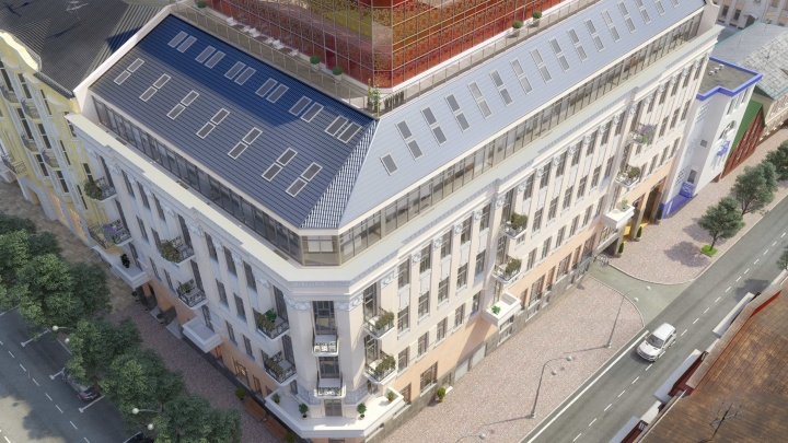 В Ростове из старинного здания сделали престижный торгово-офисный центр