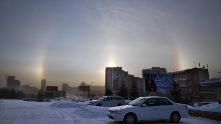 Одевайтесь потеплее: к выходным в Новосибирске усилятся морозы