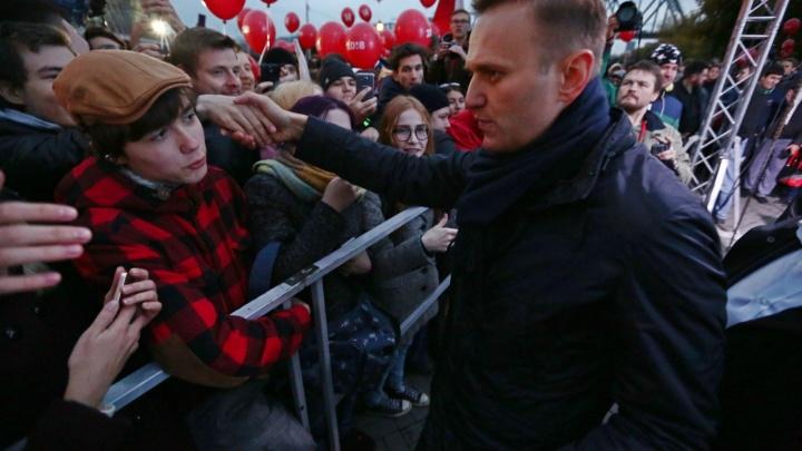 Навальный в кипятке