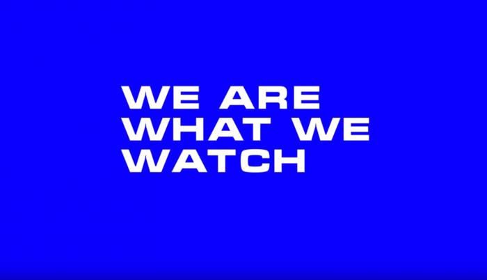 «Мы то, что мы смотрим», — говорится в ролике, снятом для телеканала