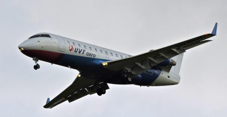 На 50-местный самолёт не набрали пассажиров
