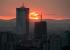 Над Екатеринбургом этим вечером был огненный закат