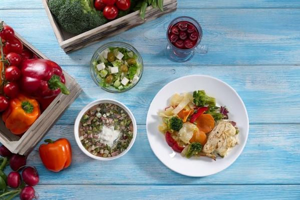 «Веснаминное» меню в «Вилке-Ложке» максимально разнообразили свежими овощами