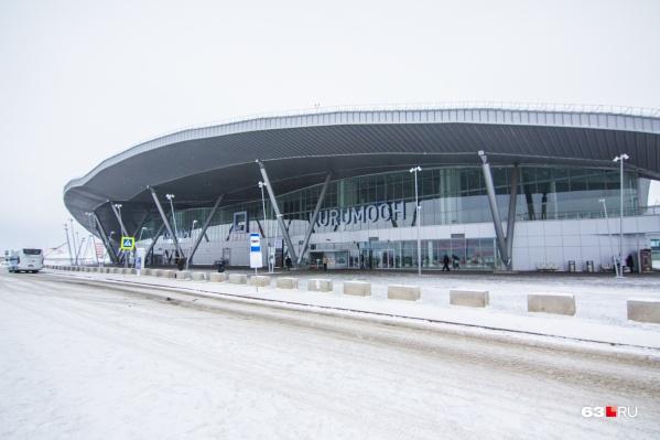 Сейчас аэропорт работает в штатном режиме