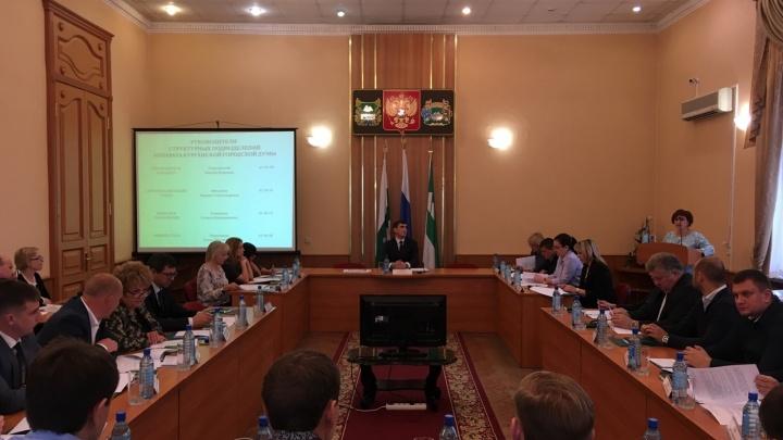 В комиссиях Курганской городской думы могут сократить количество депутатов