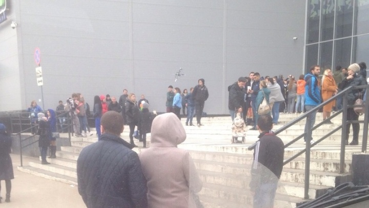 В Самаре из гипермаркета «Лента» эвакуировали 150 человек