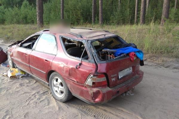 Оказалось, что водитель иномарки был лишён прав