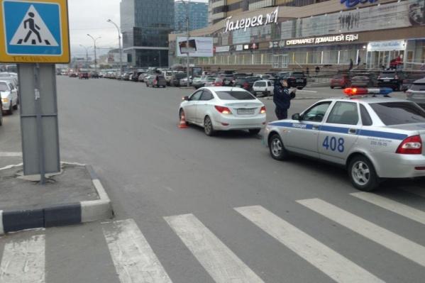 Место аварии на перекрёстке Кирова – Сакко и Ванцетти