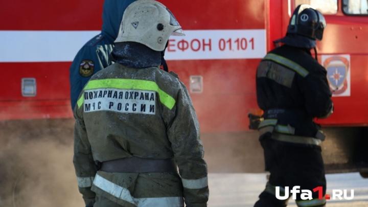 В Башкирии на пожаре погиб мужчина