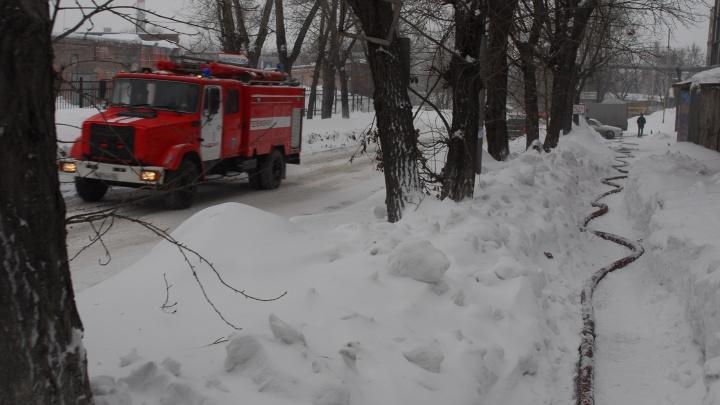 В МЧС назвали причину смертельного пожара в Ленинском районе