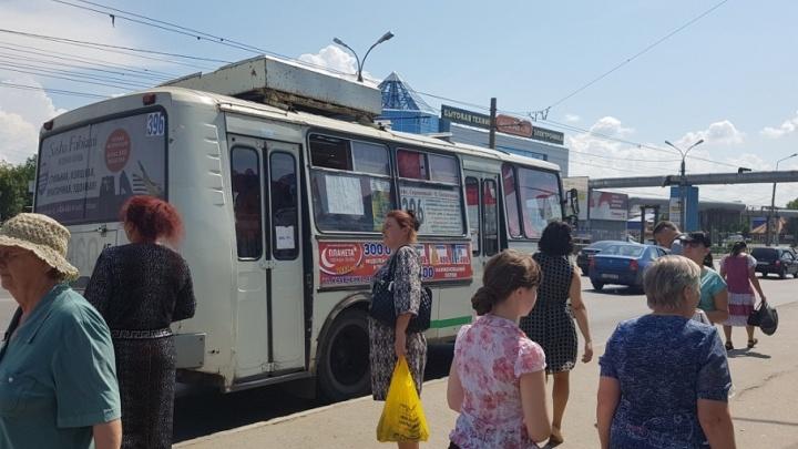 В Кургане автобусы меняют маршруты из-за ремонтных работ