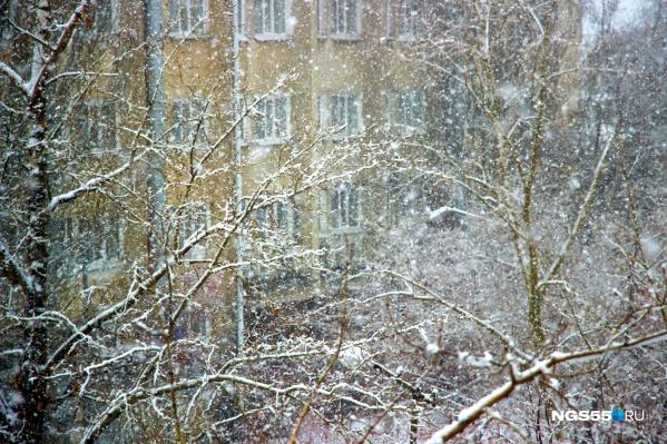 Начало недели обещает быть тёплым и снежным