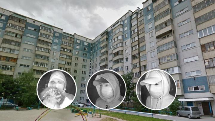 Видео: трое в белых масках отняли у новосибирца сумку с 1 миллионом рублей