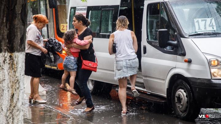 Сильнее всего достанется Волгограду: на регион в конце рабочей недели обрушатся ливни и грозы