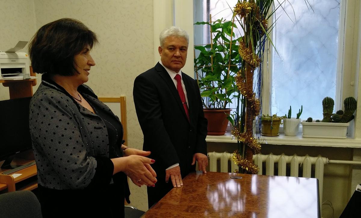 Нового руководителя представила замминистра Татьяна Сочинская