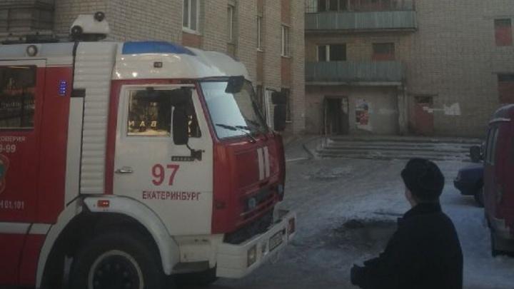 На Вторчермете загорелась квартира в 9-этажном доме