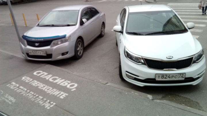 «Я паркуюсь, как...»: любители бросать машины на «зебрах» и автохамы, оккупировавшие Малыгина