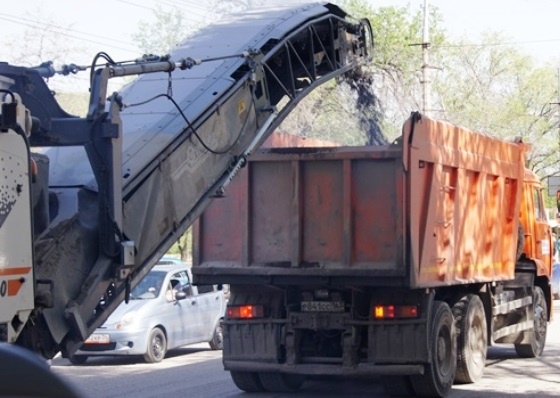 Машины не ставить: в Волгограде начался ремонт улицы Краснопресненской