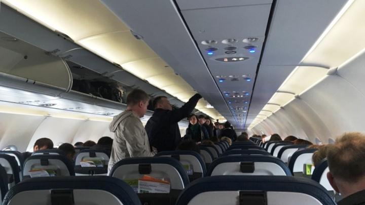 Не было одноразовых подголовников: в Перми оштрафовали авиакомпанию «Победа»